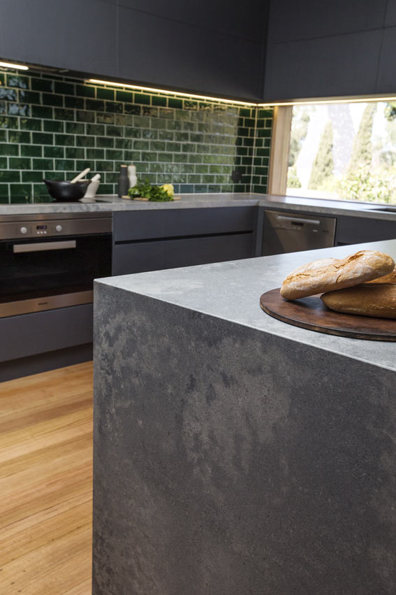 Caesarstone Rugged Concrete Benchtop