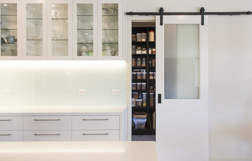 Modern Kitchen Pantry Waterways