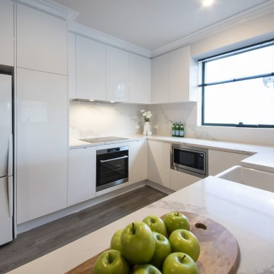 Small Modern Kitchen South Yarra Feature